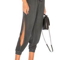 Young, Fabulous & Broke Bluffton Pant in Black Sand & Oil Wash