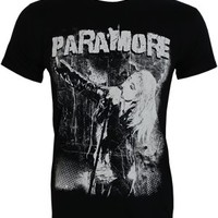 Paramore Grunge Men's Black Slim Fit T-Shirt - Offical Band Merch - Buy Online at Grindstore.com