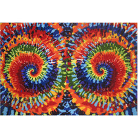 Fun Rugs Fun Time Collection Tie-Dye Fun Area Rug