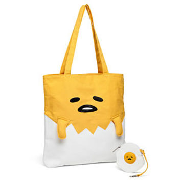 Gudetama Vegan Leather Tote with Coin Bag