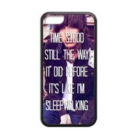 Bring Me the Horizon Lyrics Quotes TPU (Laser Technology) Covers Cases for iPhone 5C - Rubber Sides