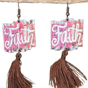 Forever Faithful Earrings