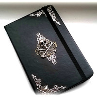 Gothic book, note book, book of shadows, sketch book, gothic gift.