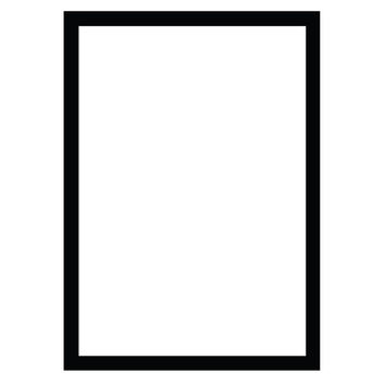 The 1975 Rectangle Inspired Vinyl Decal - 3x3""