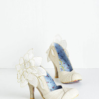 Irregular Choice Luxe A Sight for Adoring Eyes Heel