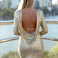 DATE NIGHT 2.0 DRESS , DRESSES, TOPS, BOTTOMS, JACKETS & JUMPERS, ACCESSORIES, 50% OFF SALE, PRE ORDER, NEW ARRIVALS, PLAYSUIT, COLOUR, GIFT VOUCHER,,Sequin,BACKLESS,BODYCON,LONG SLEEVES,MINI Australia, Queensland, Brisbane