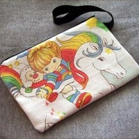 Rainbow Brite Clutch Purse Bag Kawaii Sprite from Poppy's Garden Gate