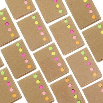 Novelty   Candy Color Memo Pad