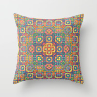 A Vintage Look Throw Pillow by Lyle Hatch