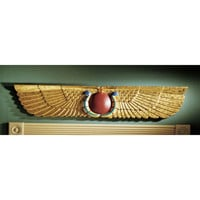 Egyptian Temple Pediment