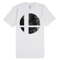 Smash Bro!!!-Unisex White T-Shirt