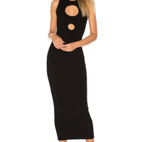 Ronny Kobo Julianne Maxi Dress in Black | REVOLVE