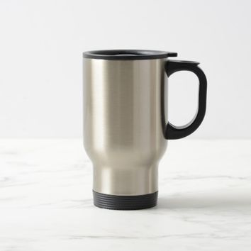 Personalized Stainless Steel Travel Commuter Mug