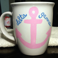 Delta Gamma Anchor 14 oz Mug
