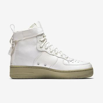 The Nike SF Air Force 1 Mid Women's Shoe.