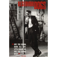 Reservoir Dogs Domestic Poster