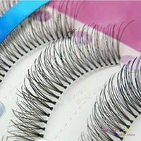 10Pair Handmade False Eyelashes Quality Fake Lash Eyelash Extension Fake Eye Lashes Make Up Falses Natural Lashes Tools