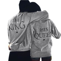 The King His Queen Relationship Goals Long Sleeve T-Shirts