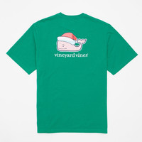 Santa Hat Pocket T-Shirt