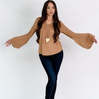 SHAY BELL SLEEVE TOP