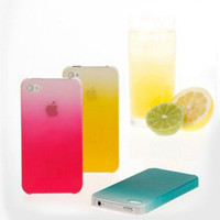 [grlhx110027]Cool Gradient Hard Cover Case For Iphone 4/4s
