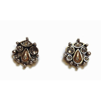 Patricia Locke Jewelry - Mirabell Post Earrings in Crystal