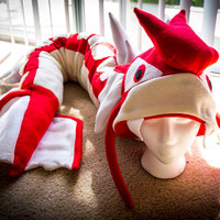Red Gyarados Plush Beanie