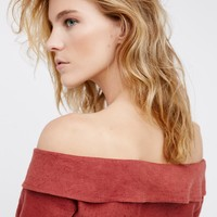 Free People Come Back Wrap Top