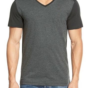 Men's G-Star Raw 'Harm' Colorblock V-Neck T-Shirt,