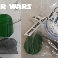 Star Wars Party Favors Tags Included - Boba Fett & Imperial Star Destroyer, bags and tags included for Kids Birthday Party Favors, Set of 20