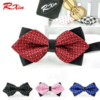 2016 HOT Formal Adult Mens Kids Bow tie solid color  Children Accessories Butterfly Cravat Bowtie Butterflies Bow ties For Boy