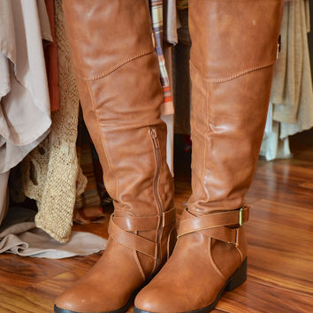 To New Heights boot, camel
