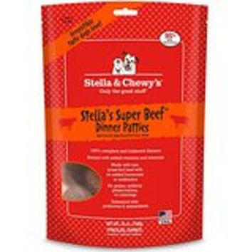 Stella & Chewy's Super Beef Freeze-Dried Dinner Patties for Dogs