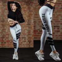 2018 Sexy Letter Printed Sweatpants