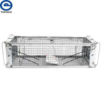 Single/Double Door Rat Cage Mice Repeller Camping Rat Trap Catch Bait Hamster Mouse Trap Cage Pest Control