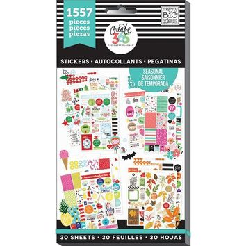 Me And My Big Ideas Create 365 The Happy Planner Stickers Value Pack Brilliant Year Seasonal