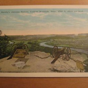Vintage Garrity's Alabama Battery Lookout Mountain Tennessee Postcard