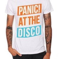 Panic! At The Disco Tilted Logo Slim-Fit T-Shirt - 940077