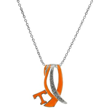 Tennessee Volunteers - Ribbon Sparkle Necklace