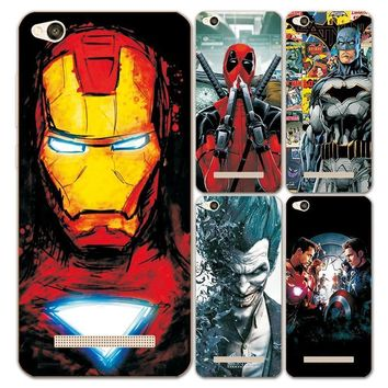 Deadpool Dead pool Taco Charming Marvel Avengers Captain America  Perfect Coque for Xiaomi Redmi 4A Hongmi 4A 5.0 inch Soft Silicon Phone Case AT_70_6