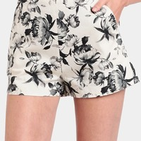 Film Noir Printed Shorts