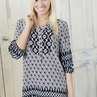 Perfectly Printed Dress - Piace Boutique