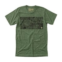 Woodchip Tee Heather Army / HippyTree