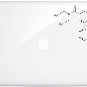 LSD Chemical Laptop Decal 5""