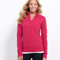 Women's Sweaters: Magnolia 1/4-Zip Sweater – Vineyard Vines