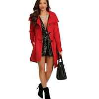Red Make it Fancy Coat