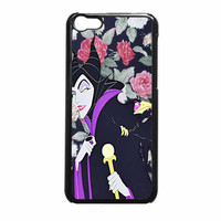 Malficient Disney Floral iPhone 5c Case