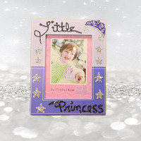 Purple Frame - Princess Gifts - 5x7 Frames - Little Girls Gifts -  Little Princess - Girls Room Decor - Girls Frame - Gifts Under 20