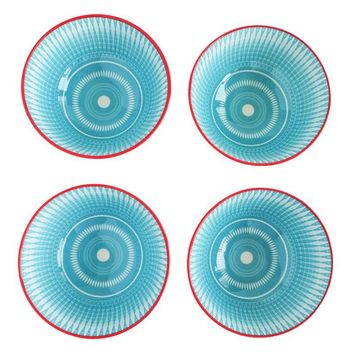 Aero Turquoise/Red Bowls