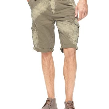 True Religion Dean Cargo Mens Short - Gravel/natural